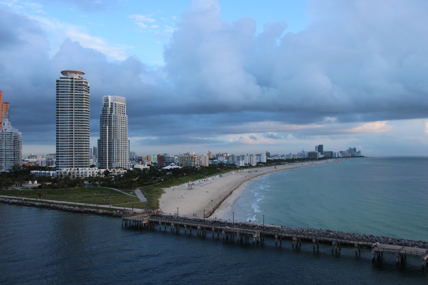 Miami Beach am frühen Morgen