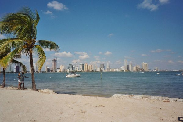 MIAMI BEACH WITH BUILDINGS