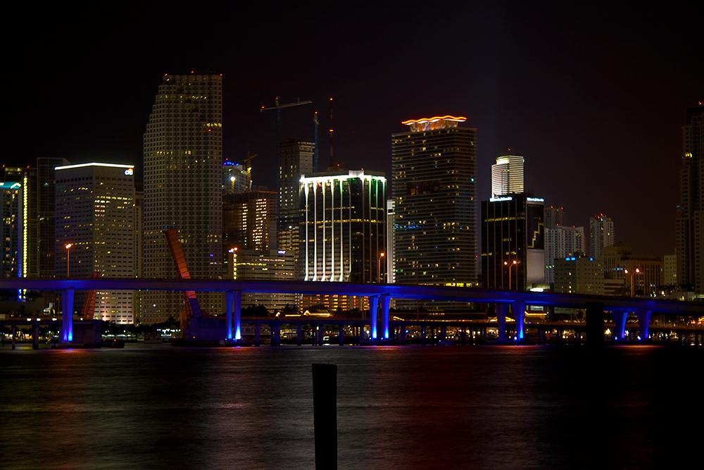 Miami bei Nacht