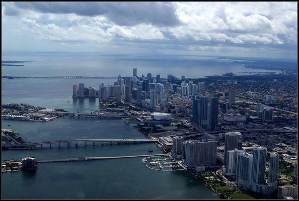 Miami Downtown von oben...