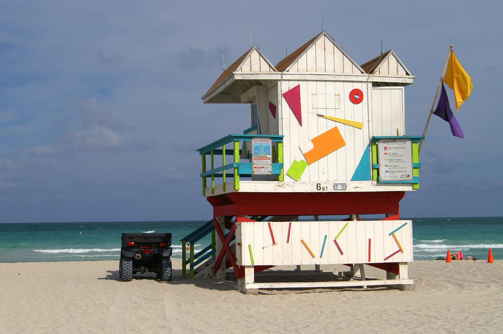 Miami Rettungsturm