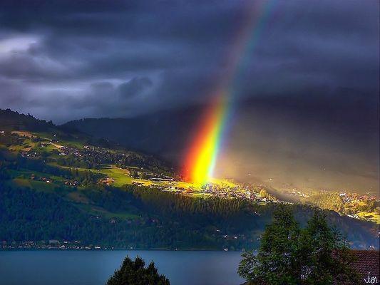mich traf nicht der Blitz, nein mich blendete der Regenbogen