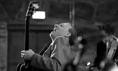 Michael Kusche an der Gitarre