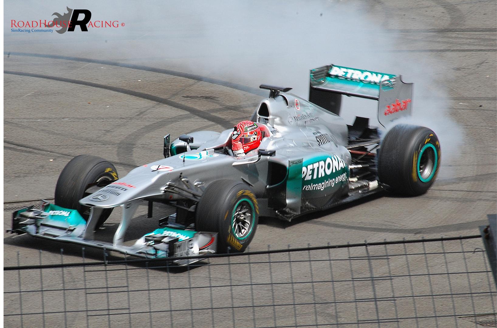 Michael Schumacher at Hockenheimring 2012 (presentation)