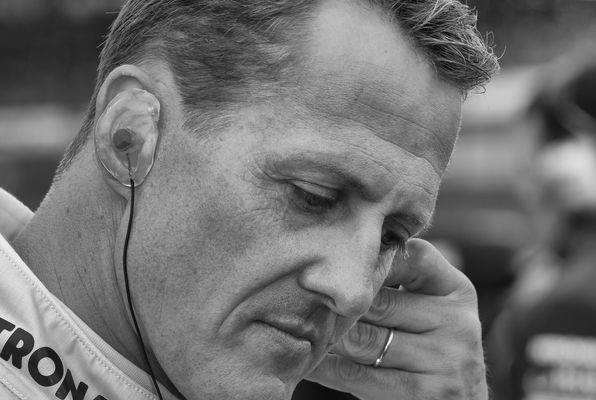 """Michael Schumacher durch die Hölle - """"grüne"""" Hölle"""