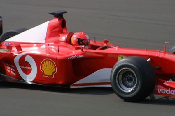 Michael Schumacher im F1-2001