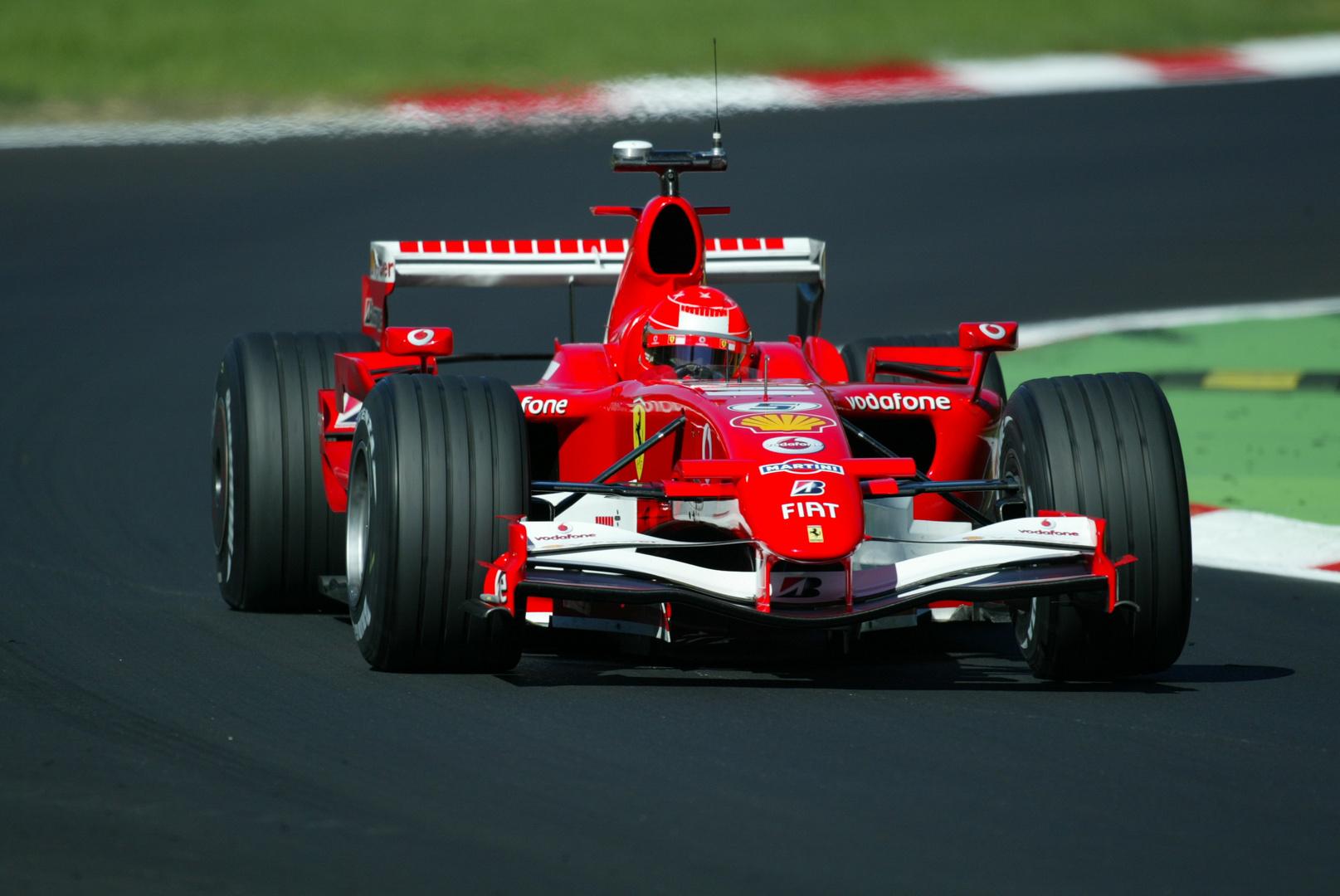 Michael Schumacher in Monza 2006