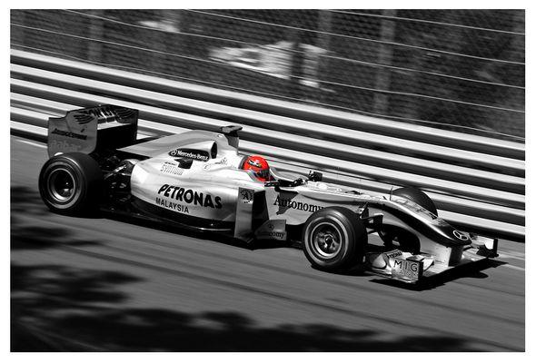 Michael Schumacher, MGP, Monaco 2010
