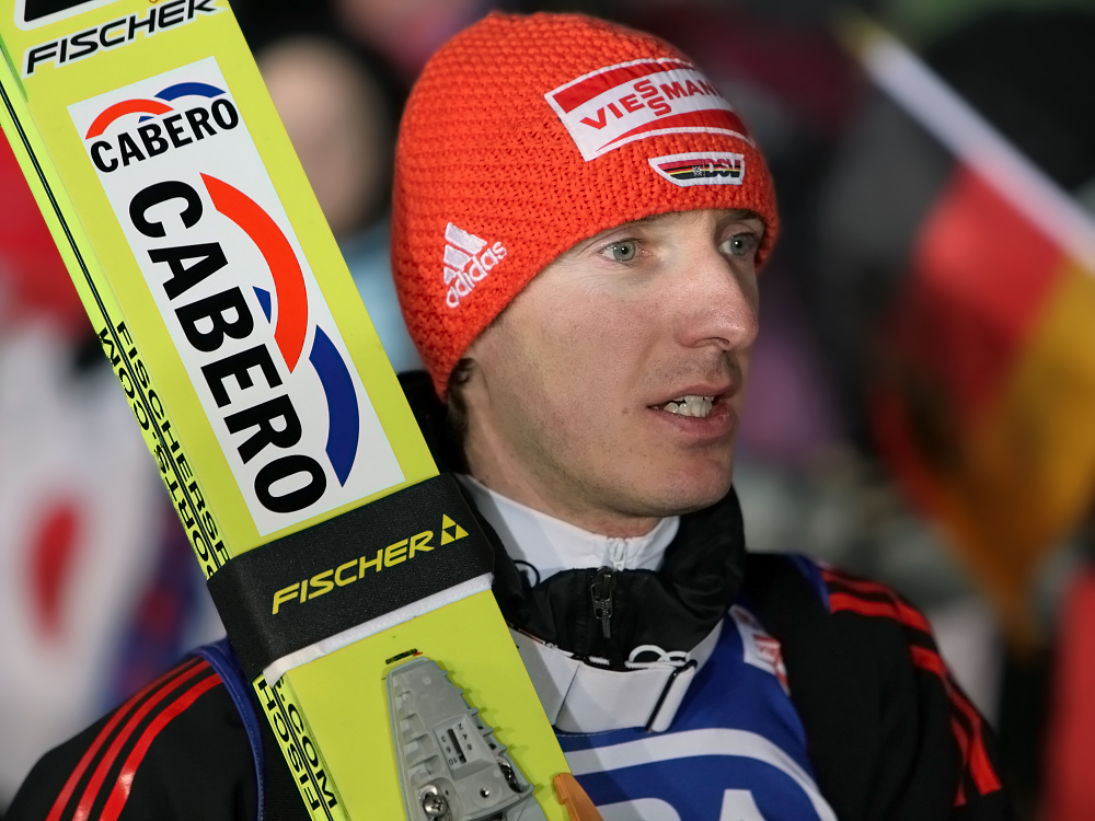 Michael Uhrmann nach dem Teamspringen in Willingen 29.01.2011