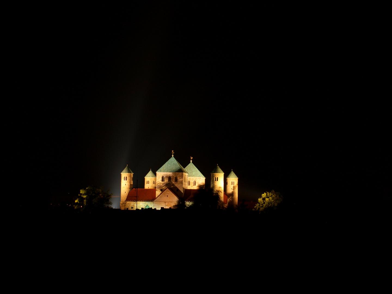 Michaelis Kirche in der Nacht