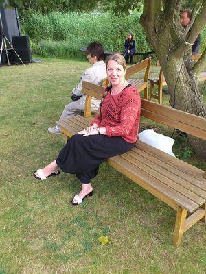 Michalsky Peggy im Park