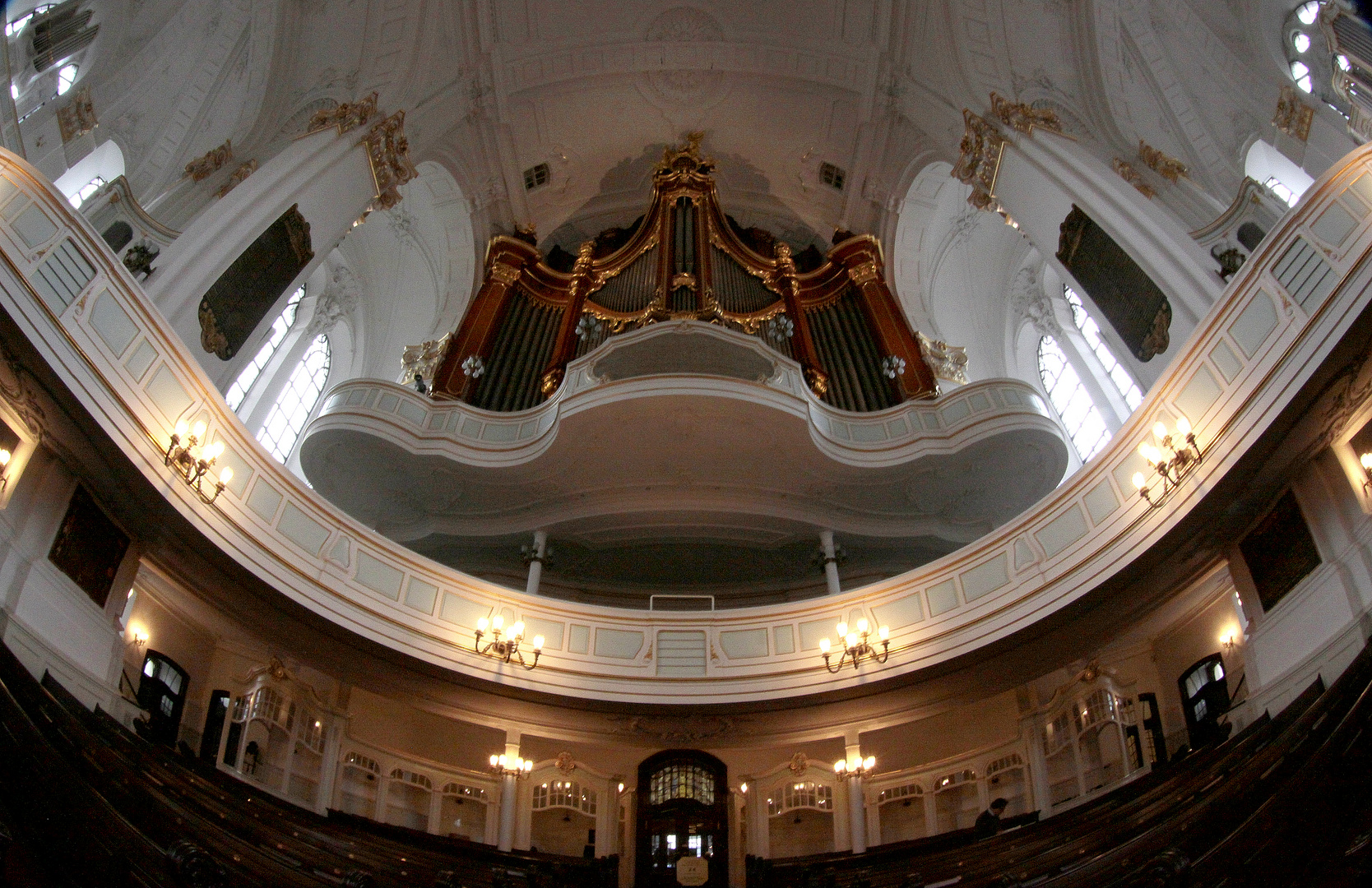 Michel - Große Orgel