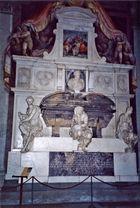 Michelangelo Buonarroti's Grave in Basilica of Santa Croce, Florence