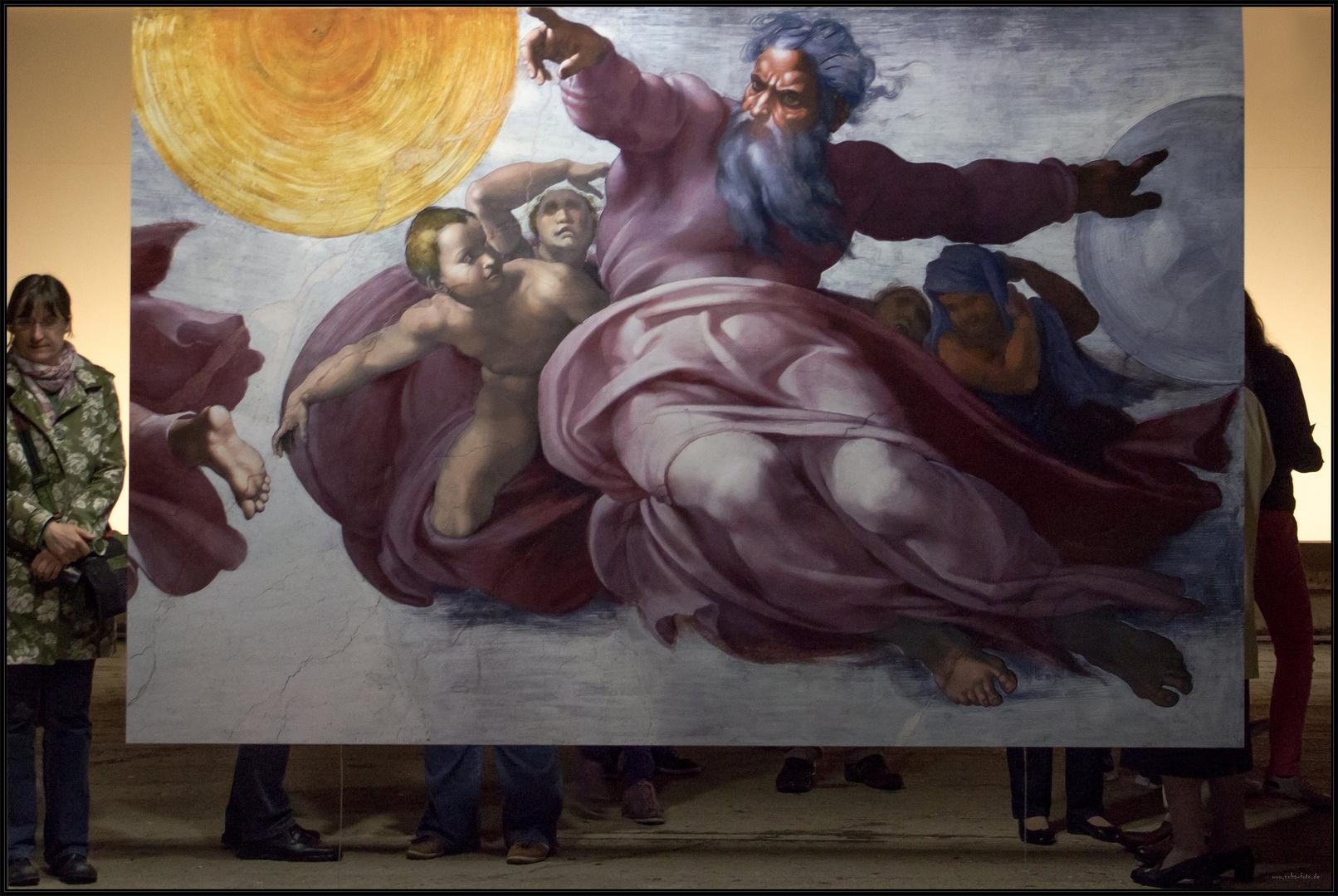 Michelangelo im Gasometer