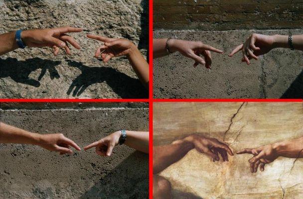 Michelangelo-Reloaded!? Ein Bilder-Rätsel - Rom4