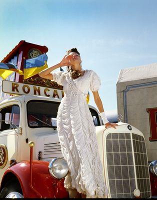 Michelle Mc Callum - Storm Models London - Roncalli Circus - Germany