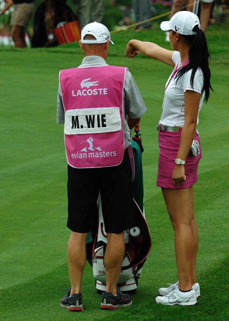 Michelle Wie...