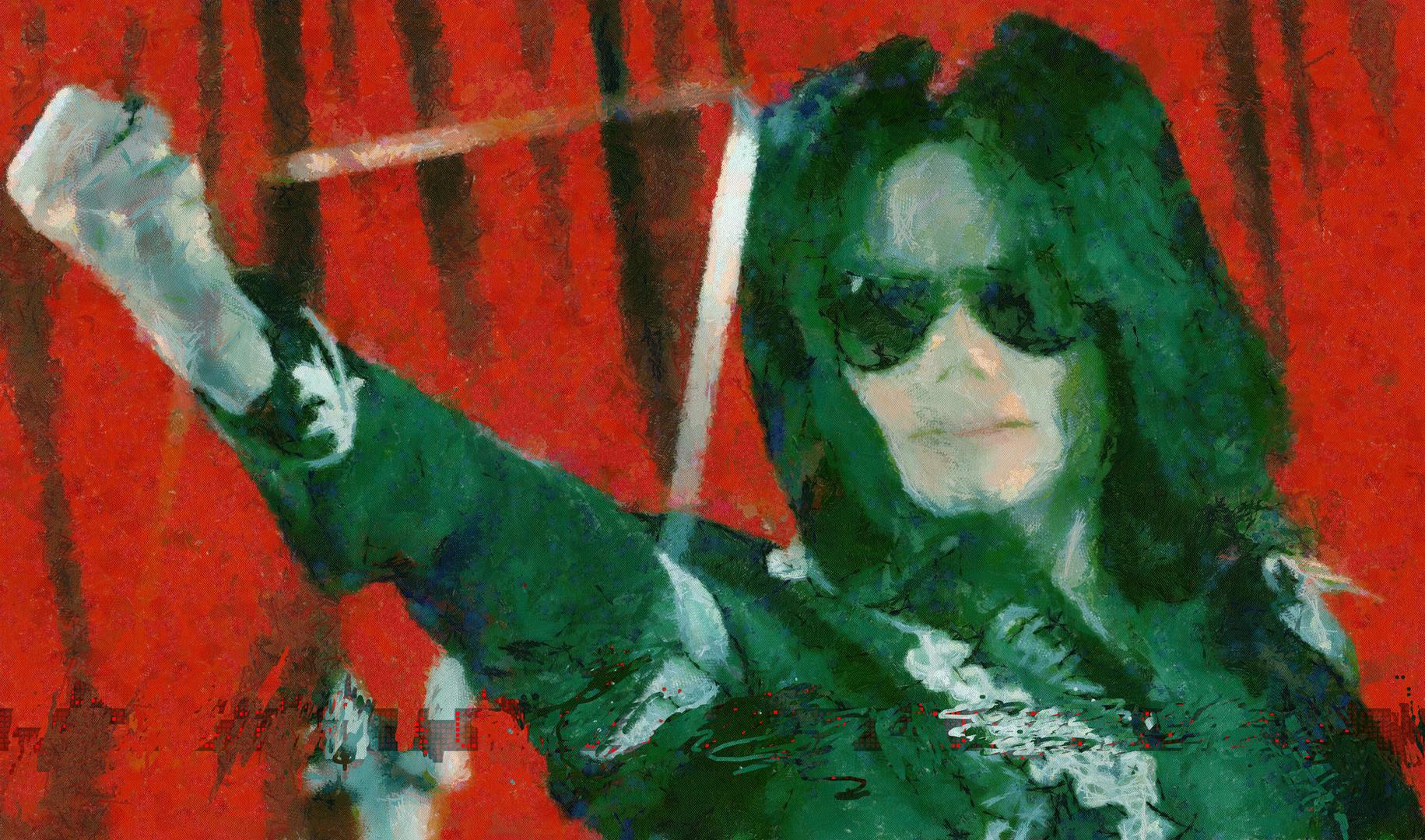 Mickael Jackson , le Roi de la Pop