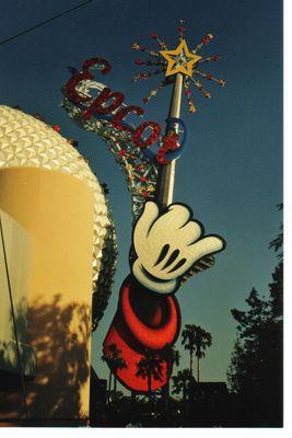 Mickey's Hand