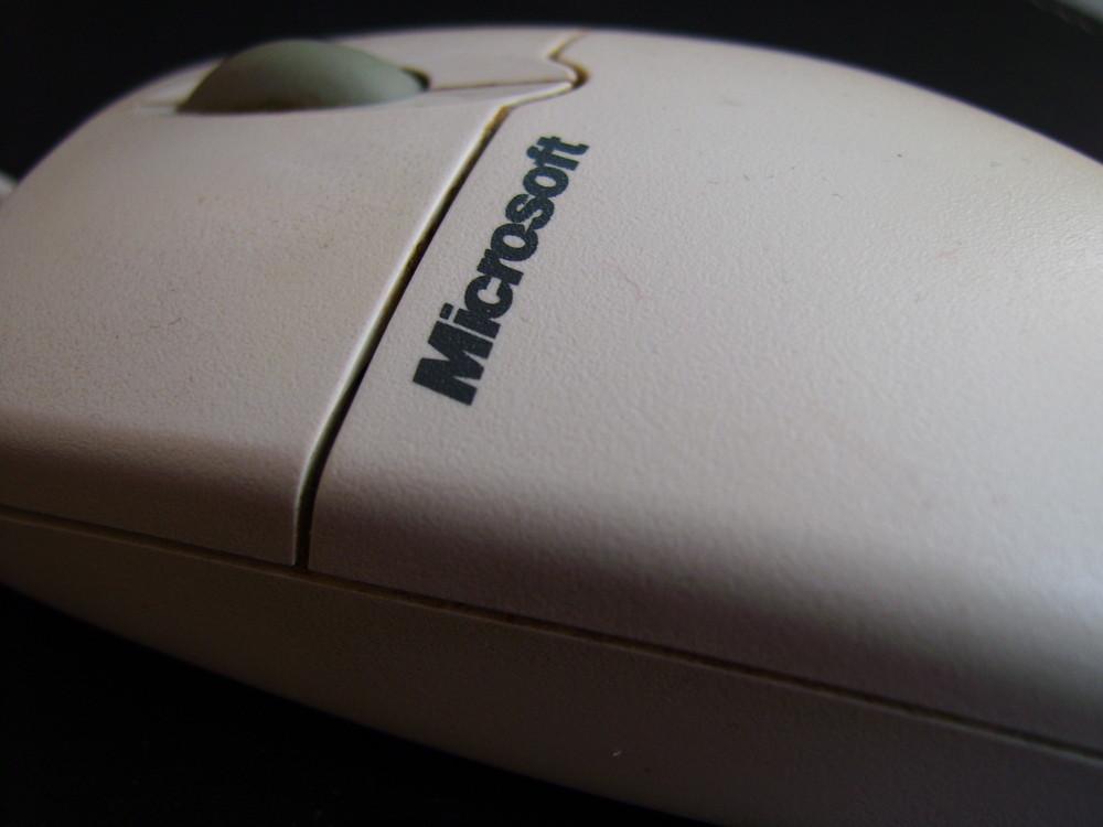 Microsoft Maus (dreckig)