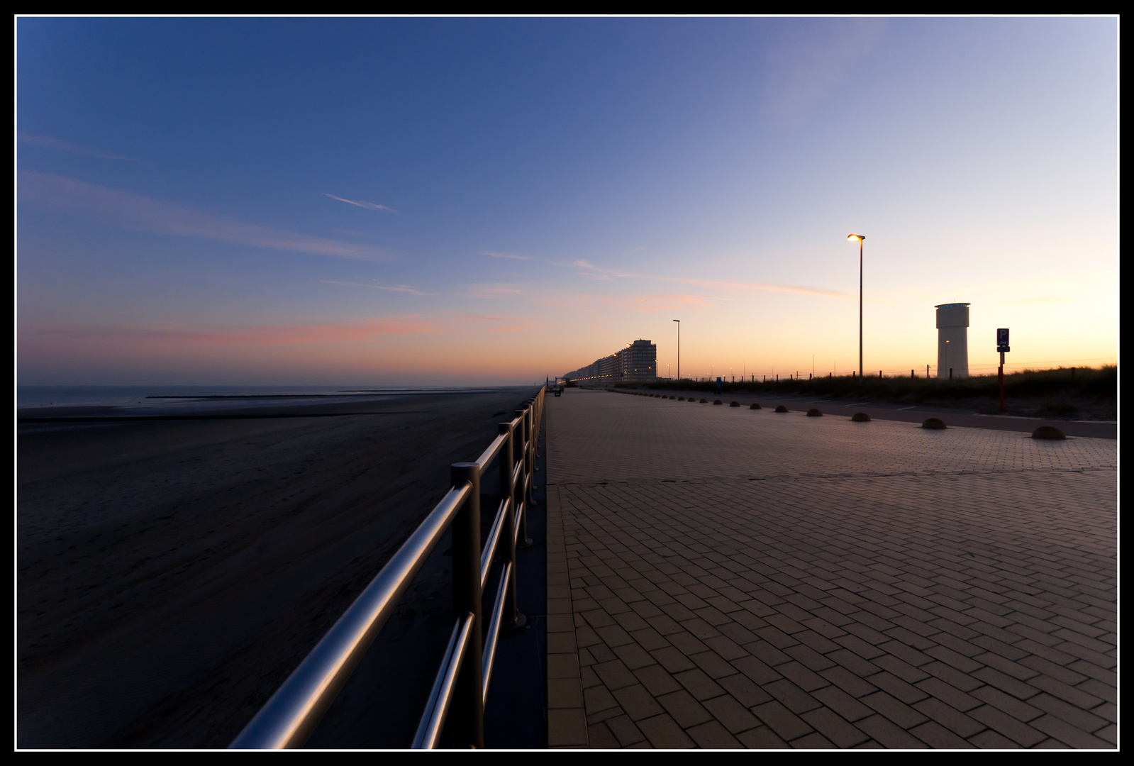 Middelkerke bei Sonnenaufgang