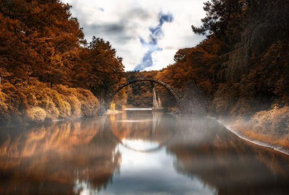 middle earth - Rakotzbrücke