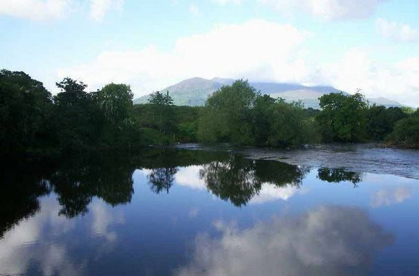Middle lake at Muckross House