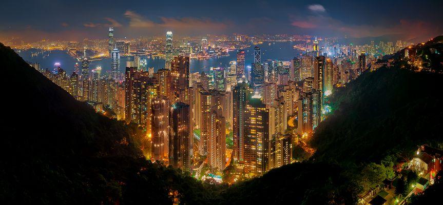 Midnight in Hong Kong