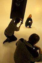 Miela and the photographers