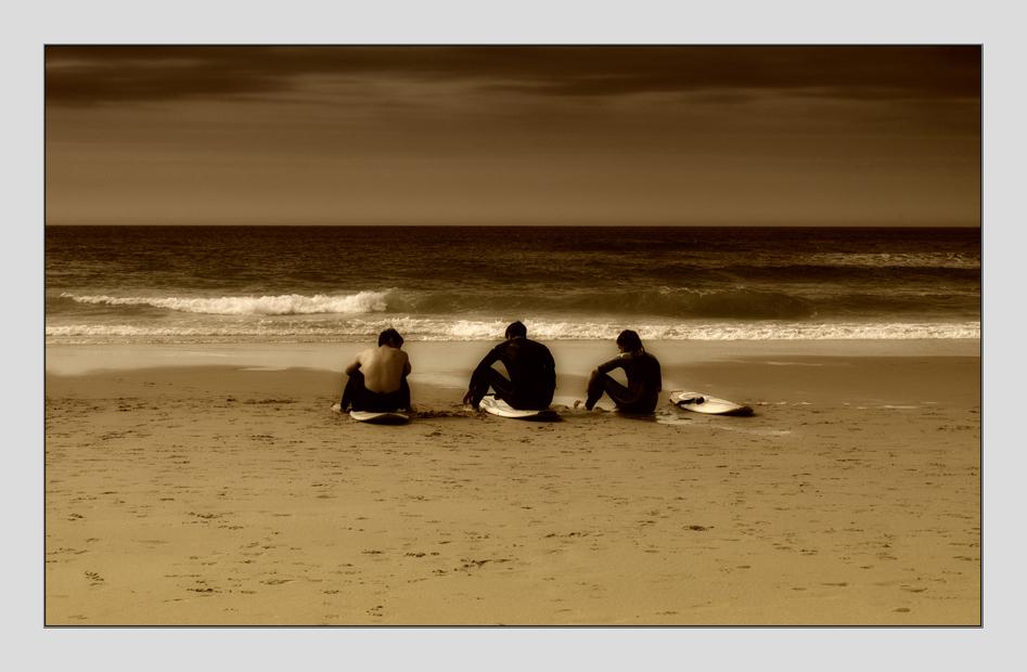 Mientras la marea sube.