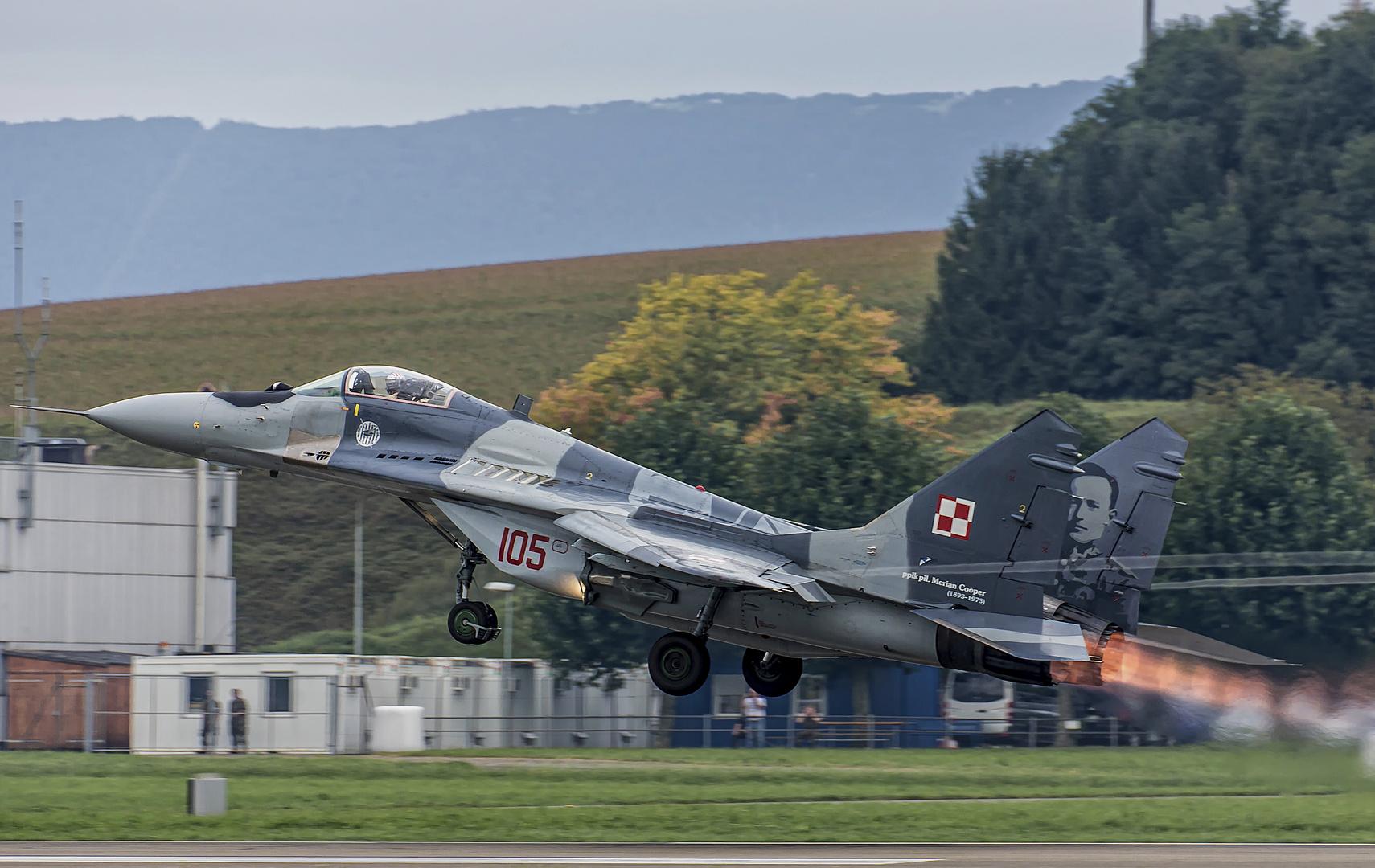 Mig-29 Fulcrum aus Polen
