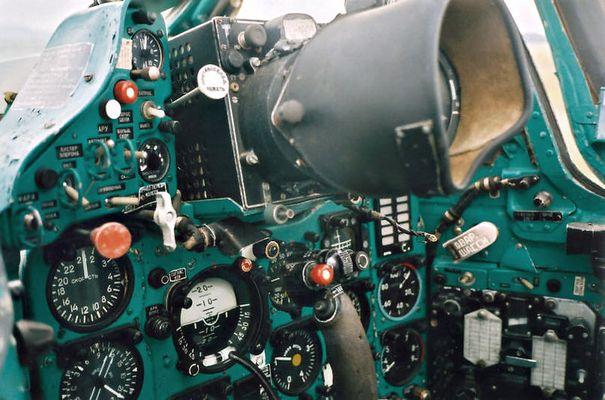 MIG21 cockpit