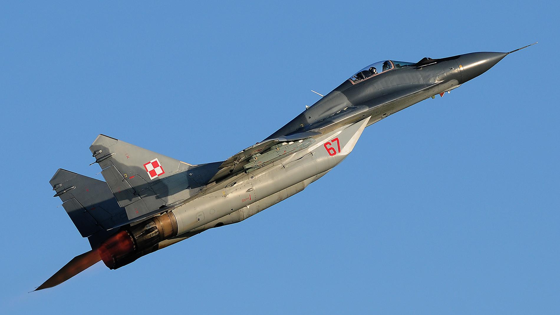 Mig29 Polen Air Force