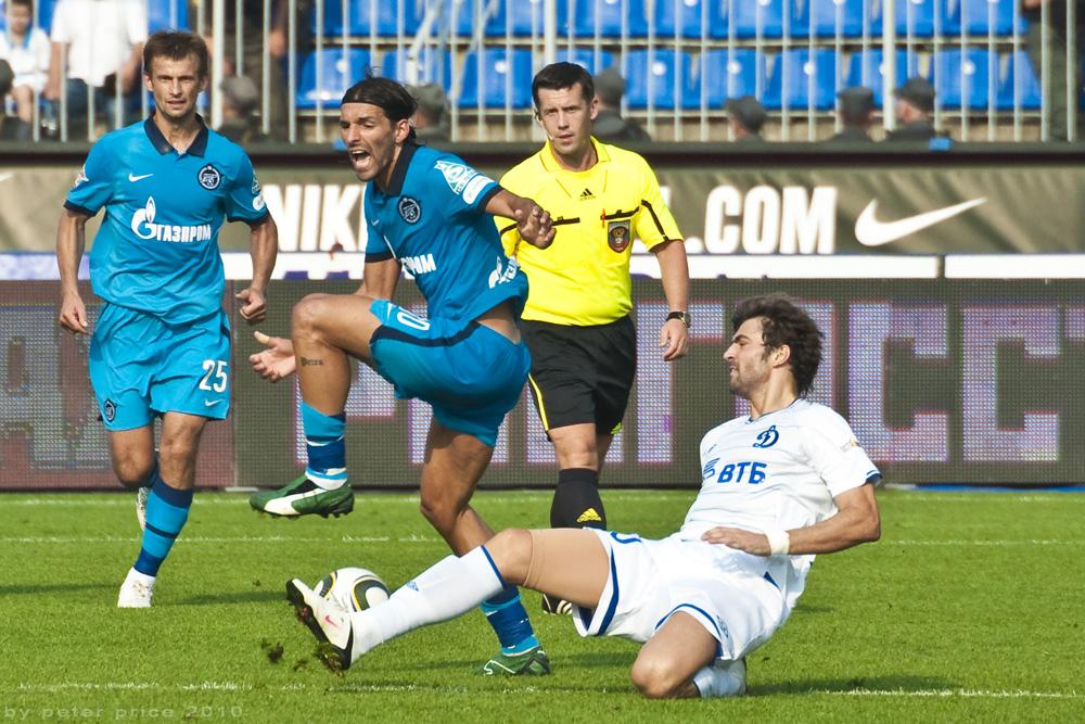 Miguel Danny. Zenit St. Petersburg - Dynamo Moskau