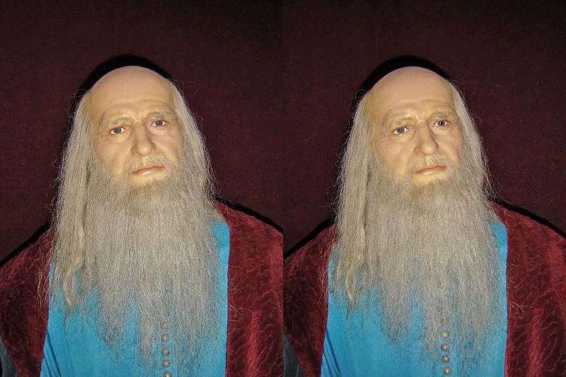 Mikeliandzhelo Buonarroti.Museum of the waxy figures.
