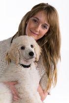 Mikeline mit Hund