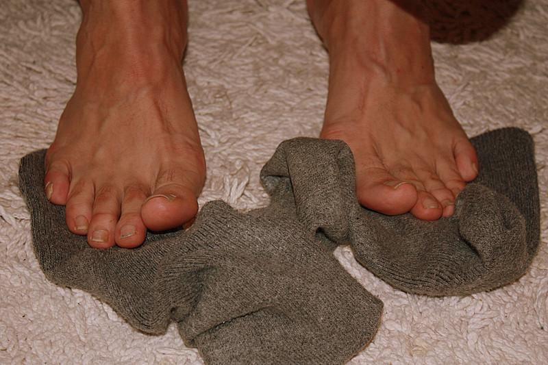 Mikeman ist von den Socken...
