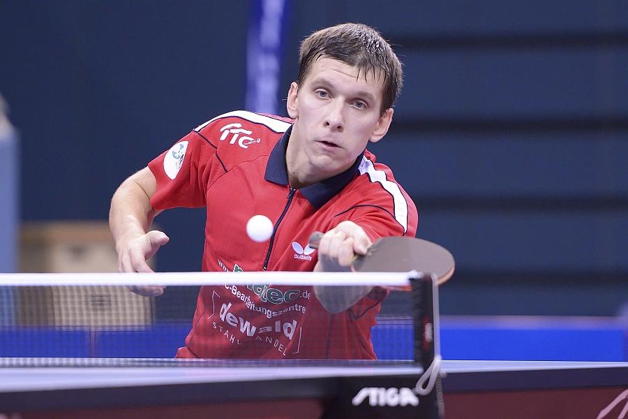 Mikhail Paykov vom TTV matec Frickenhausen