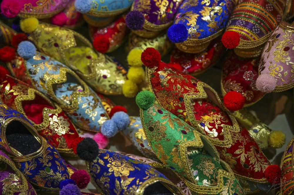 Mil y una Babuchas Bazar de las Especias (Estambul Turquía)