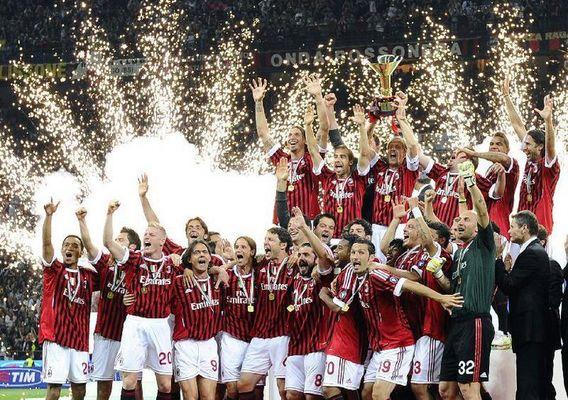 milan ac champion d italie 2010 - 2011