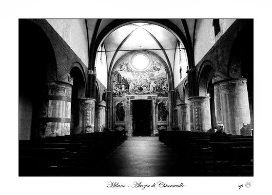Milano-Abazia di Chiaravalle