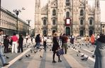 *MILANO - AT THE DUOMO (CATHEDRAL)*