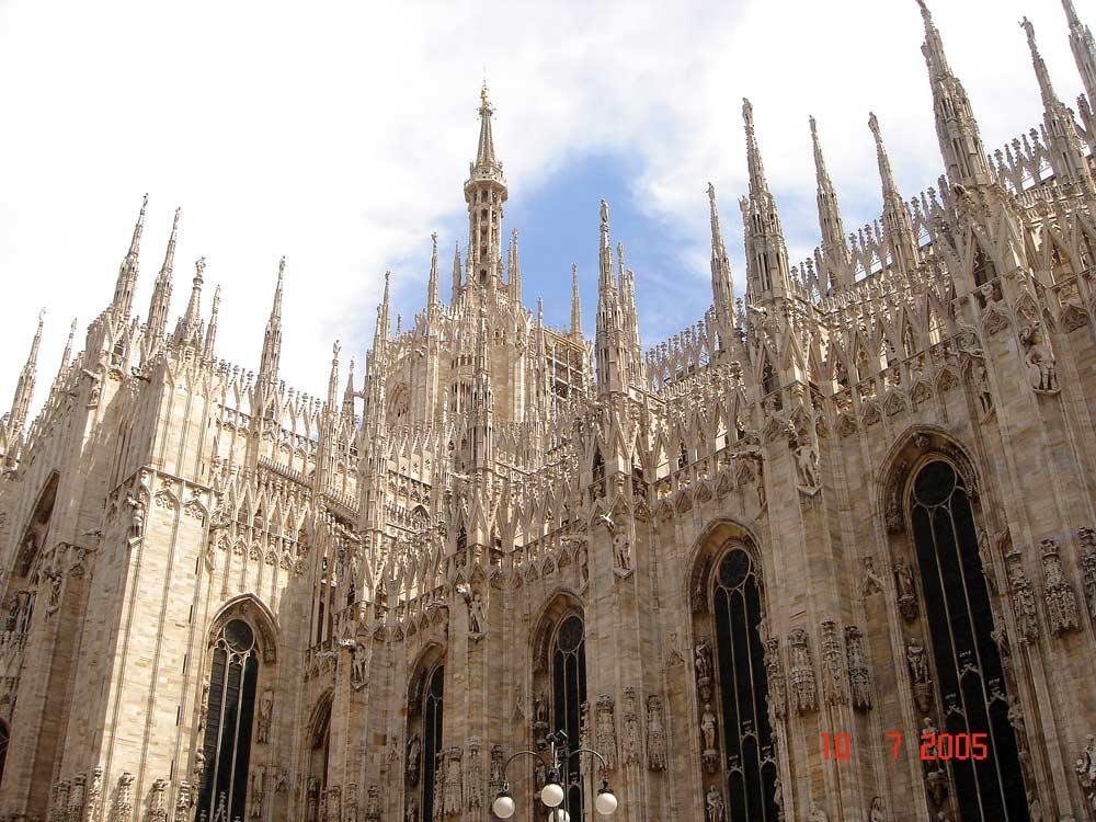 Milano church