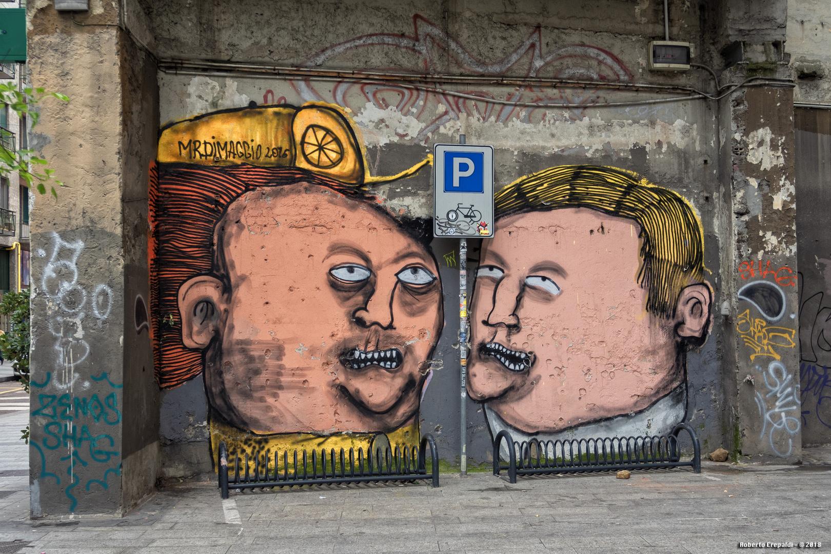 Milano, Corso Garibaldi, murales