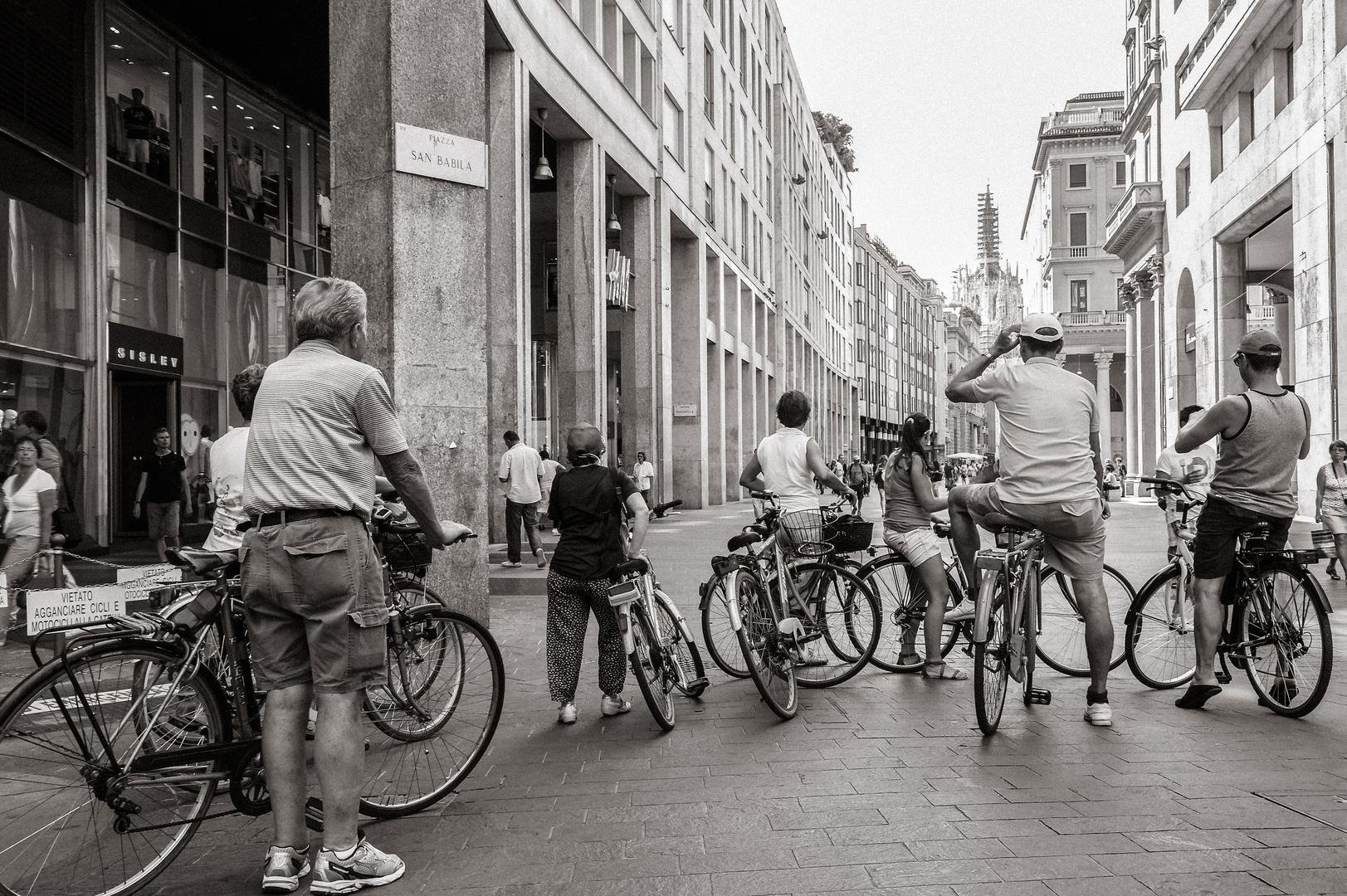 Milano - Fast am Ziel