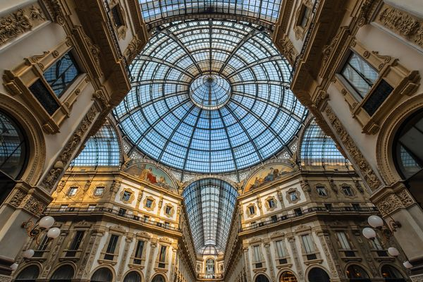 """""""Milano, galleria Vittorio Emanuele II"""""""