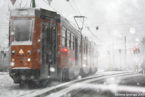 Milano nevicata
