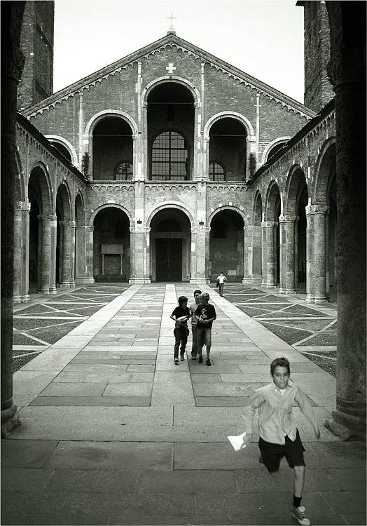 Milano - S. Ambrogio - Nach der Beichte
