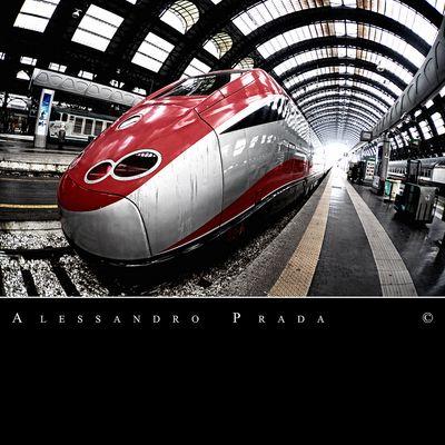 Milano - Stazione Centrale - ETR 500 Frecciarossa