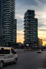Milano, via Melchiorre Gioia, le torri